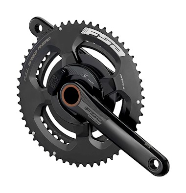 Powerbox Alloy Road ABS Chainset (2x11, 50/34T, 172.5mm)