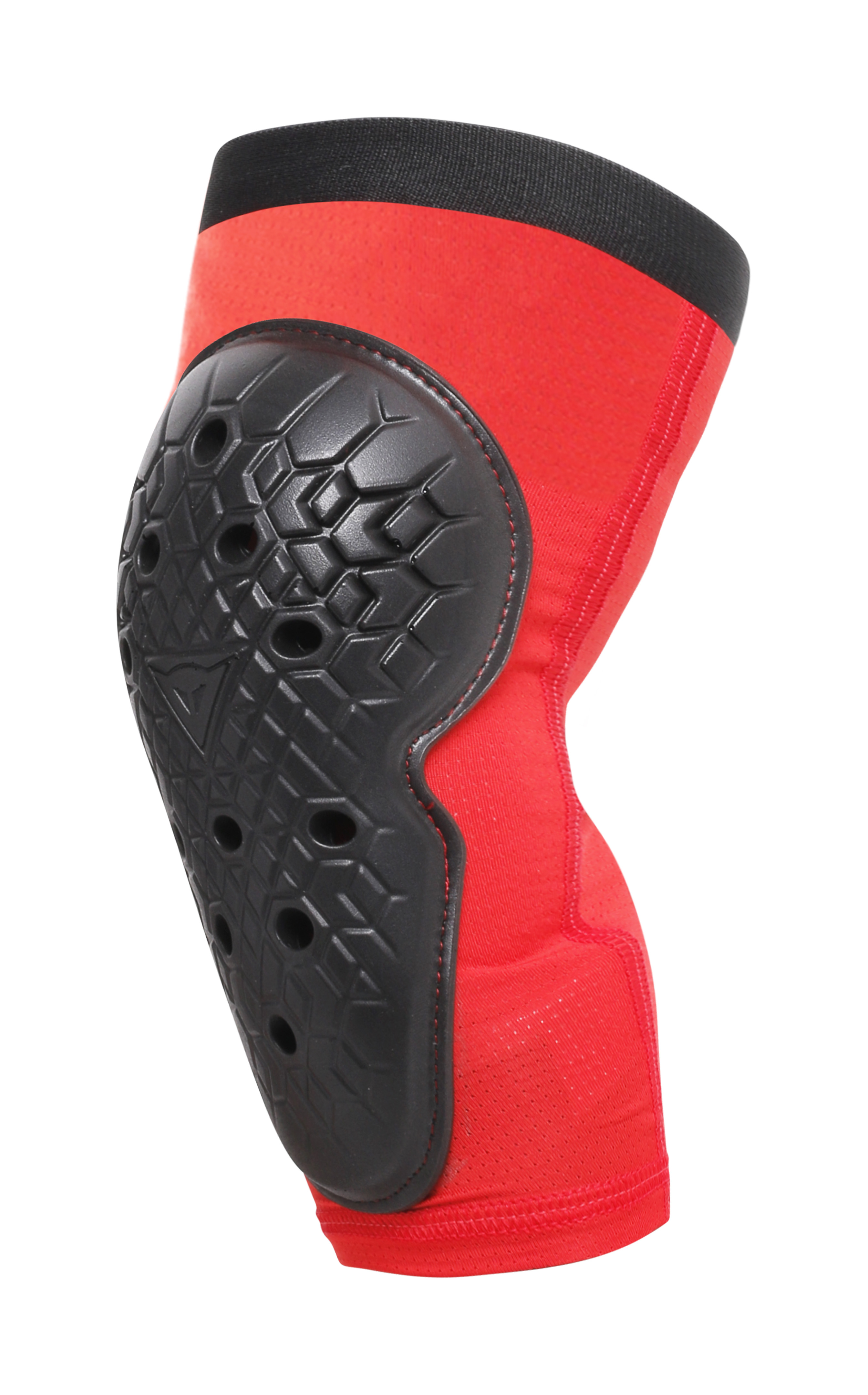 Dainese-Scarabeo-Juniour-Knee-Guards-Black-Red-L