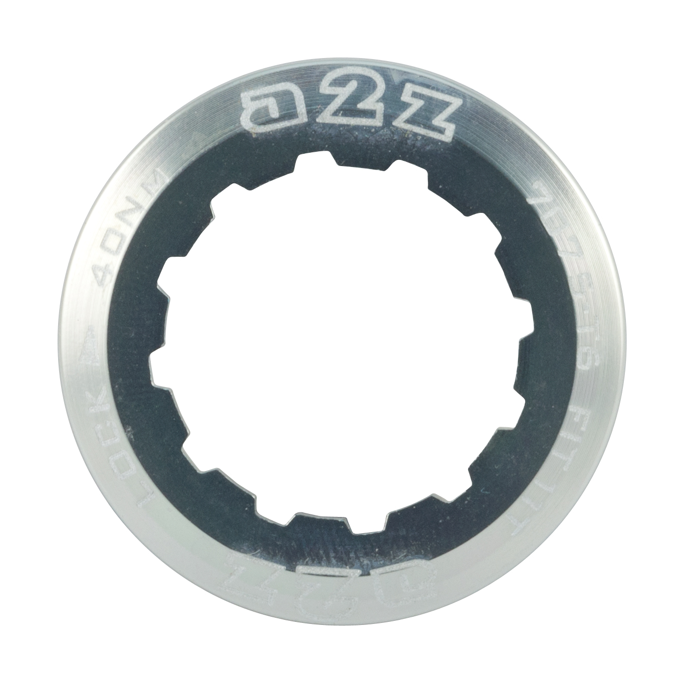 A2z-Alloy-Cassette-Lock-Ring-For-Shimano-Sram-11T-Silver