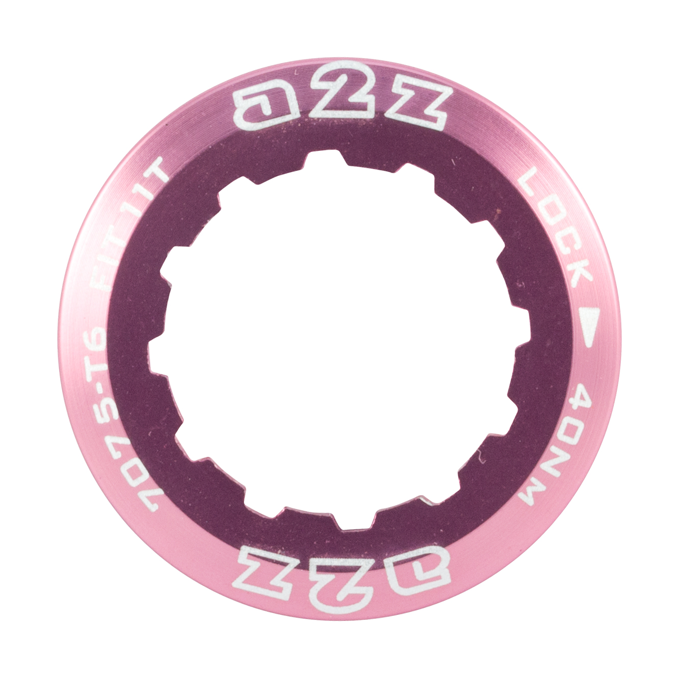 A2z-Alloy-Cassette-Lock-Ring-For-Shimano-Sram-12T-Pink