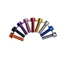 Water Bottle Cage Bolts 4pcs (Red)