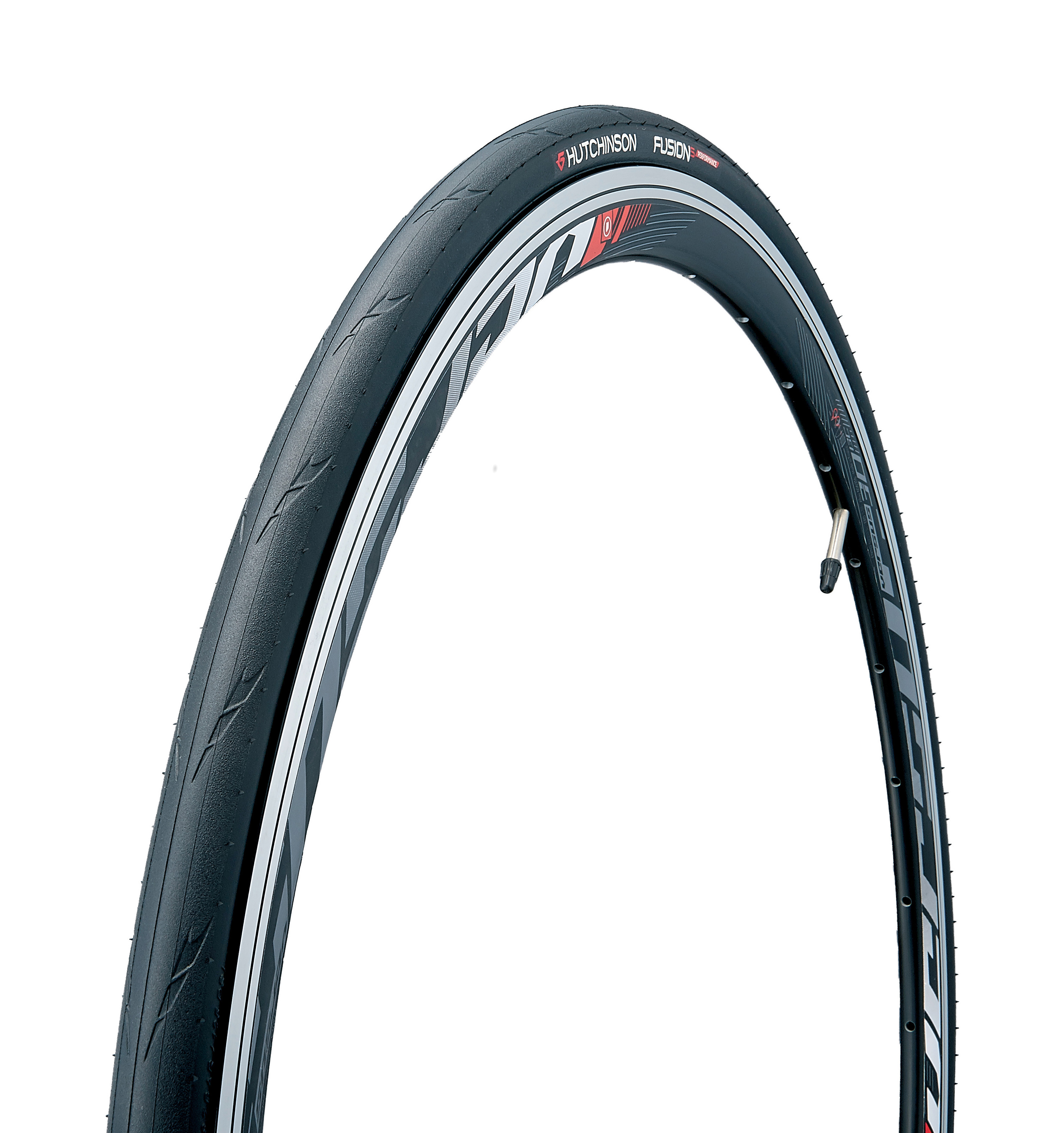 Road-Bike-Tyre-Hutchinson-Fusion-5-Performance-Road-Tire-700-X-23-Tt-Kp thumbnail 1